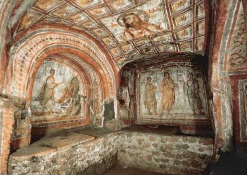 Le Catacombe dei SS Marcellino e Pietro e Mausoleo di S. Elena
