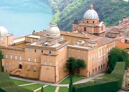 Palazzo apostolico con i giardini di Villa Barberini